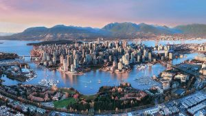 Vancouver City in Canada
